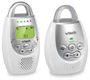 The VTech Communications Safe and Sound Digital audio monitor